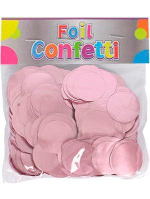 Confetti metálico Rosa 25mm