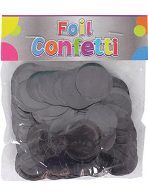 Confetti metálico Grafito 25mm