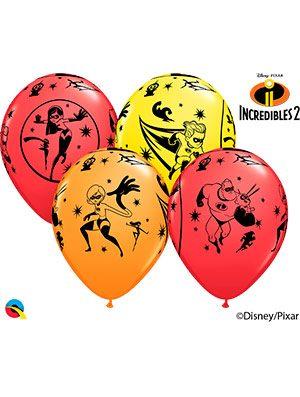 Globo látex Disney Pixar Incredibles 2