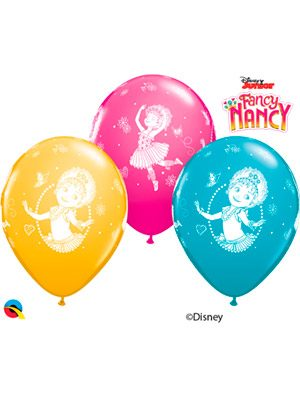 Globo látex Disney Fancy Nancy Clancy