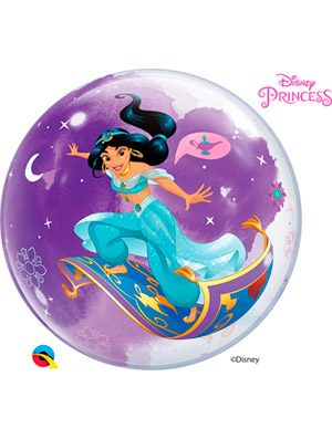 Globo bubble Disney Princess Jasmine
