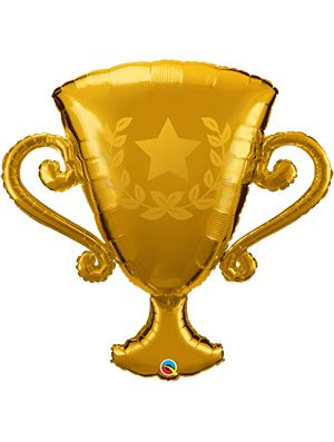 Globo foil Golden Trophy
