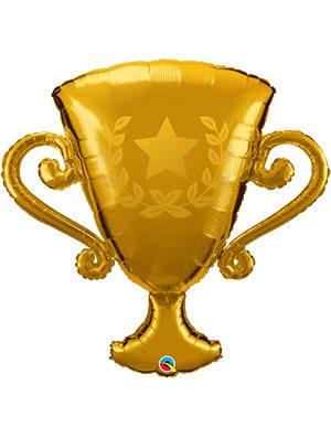 Globo foil Golden Trophy