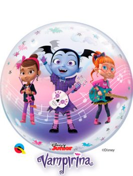 Globo bubble Disney Vampirina