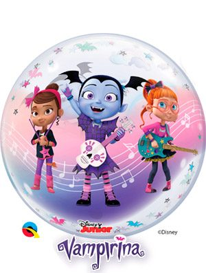 Globo bubble Disney Vampirina