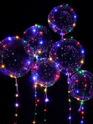 Cinta con luz led para globos 5m