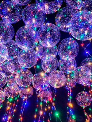 Cinta con luz led para globos 3m