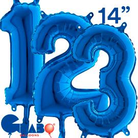 36 cms. Azul
