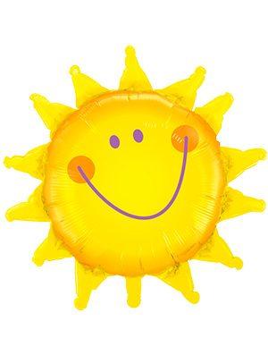 Globo foil Radiant Sun