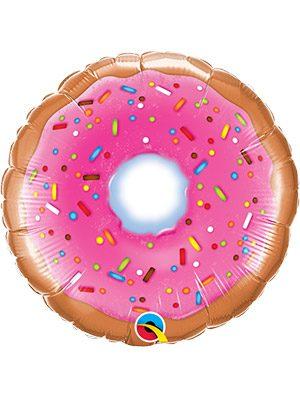 """Globo foil Donut 9"""""""