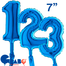 18 cms. Azul