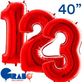 101 cms. Rojo