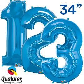 86 cms. Azul