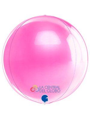 """Esfera foil Fucsia 15"""" 38 cms."""