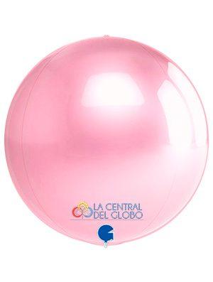 "Esfera foil Rosa pastel 15"" 38 cms."