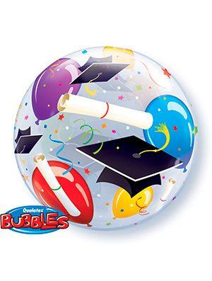 Globo Bubble Graduacion Globos