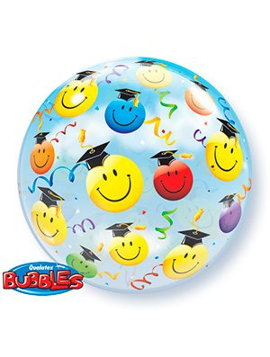 Globo Bubble Graduacion Smiles