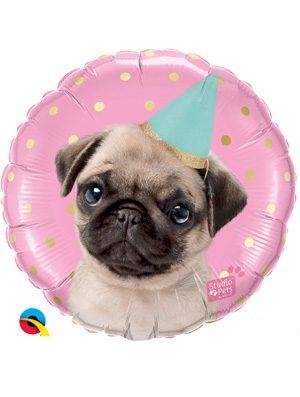 Globo foil Studio Pets Party Pug