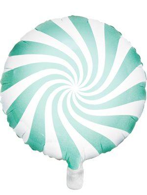 Globo foil Candy menta pastel
