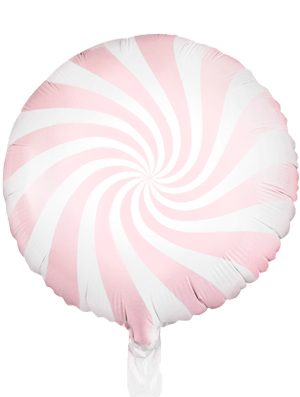 Globo foil Candy rosa pastel