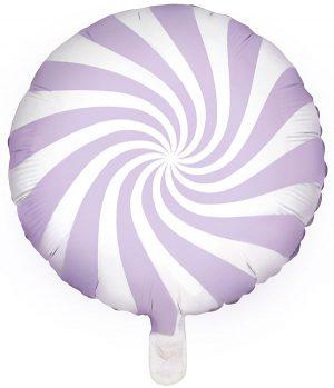 Globo foil Candy lila pastel