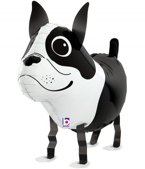 """Globo de foil Terrier amigo 26"""""""
