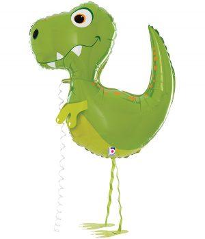 """Globo de foil Dinosaurio amigo 37"""""""