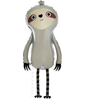 """Globo de foil Sloth amigo 39"""""""