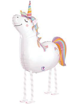 Globo de foil Unicornio amigo 42
