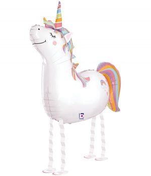"""Globo de foil Unicornio amigo 42"""""""