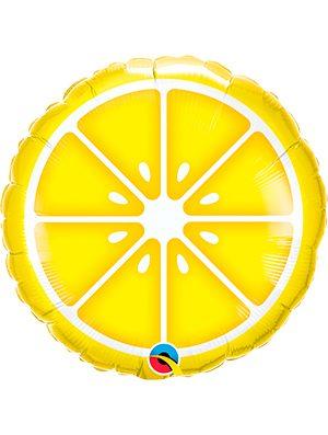 Globo foil Limón