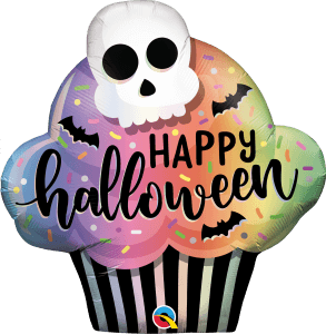 Globo foil Halloween Cupcake