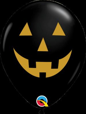 Globo látex Jack Faces surtido Halloween