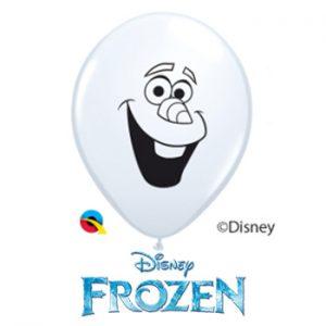 Globo látex Disney Frozen Olaf Face 5