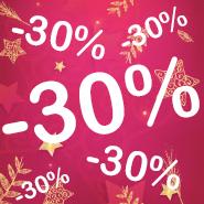 30% Navidad - Fin de Año