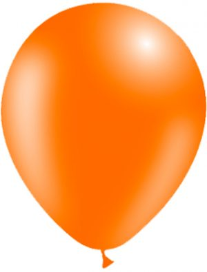 Globo látex Naranja Special Deco
