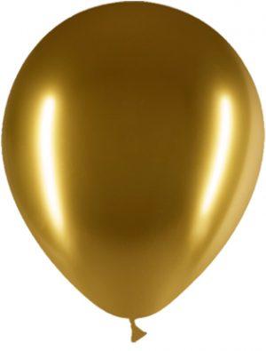 Globo látex Brilliant Oro Special Deco