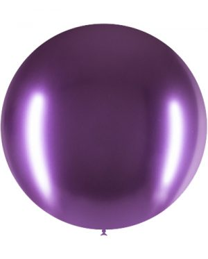 Globo látex Brilliant 60 cms. Purpura Special Deco