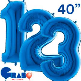 101 cms. Azul