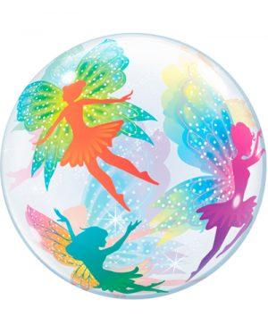 Globo Bubble Hadas mágicas & sparkles
