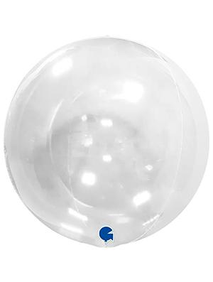 """Esfera Transparente 15"""" 38 cms."""