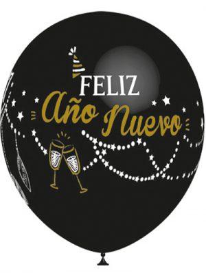 Globo látex Feliz Año Nuevo special deco