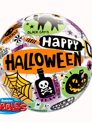 Globo bubble Halloween Messages&Icons