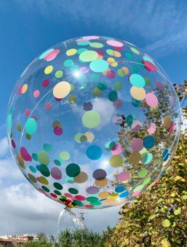 Burbuja Especial Deco confeti multicolor 18