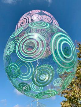 Burbuja Especial Deco circulo verde 20
