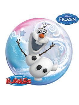 Globo bubble Disney Frozen