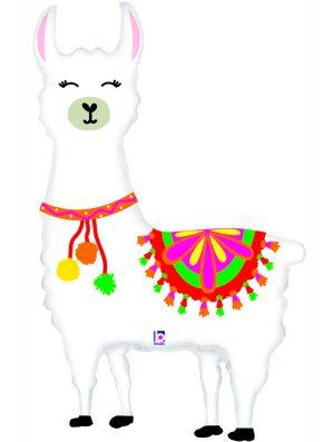 Globo foil Llama