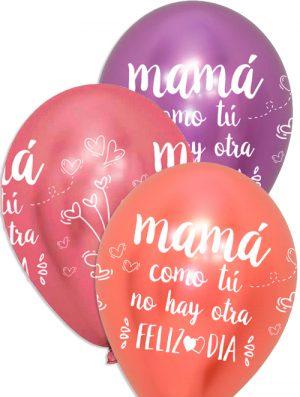 Globo látex Feliz Día Mamá surtido Brilliant Special deco