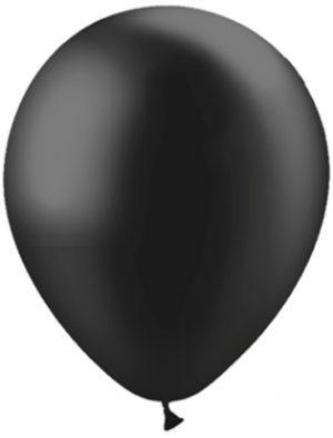 Globo látex Negro perlado Special Deco