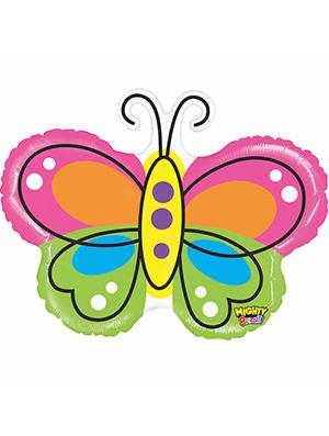 Globo foil Mariposa brillante